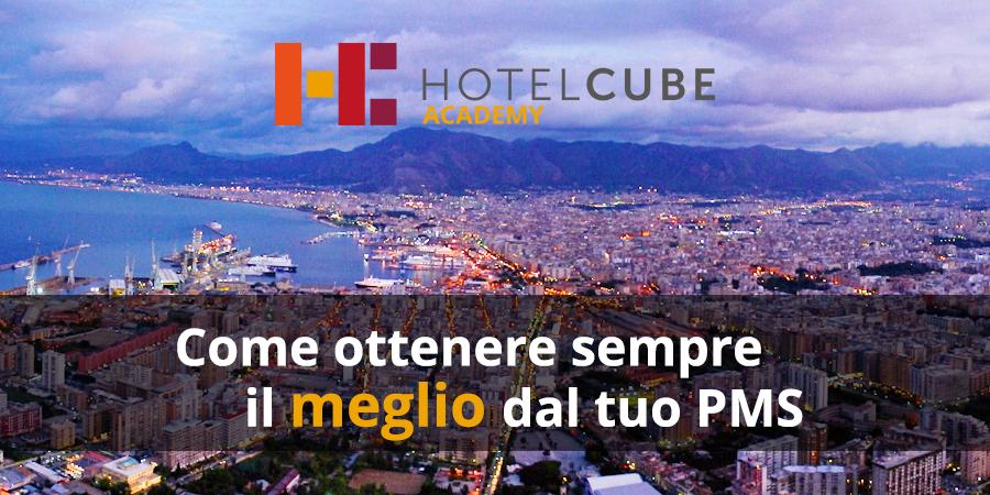 HOTELCUBE ACADEMY: la VI edizione sarà a Palermo