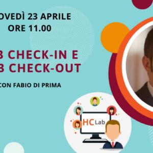 Webinar Web check-in e web check-out con Fabio Di Prima